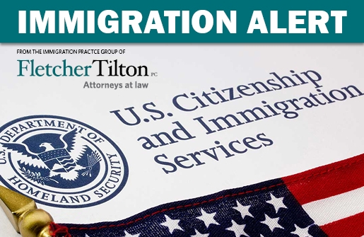 Immigration Alert: New H-1B Cap Selections
