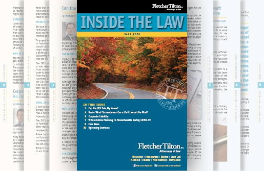 Inside the Law - Fall 2020