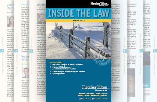 Inside the Law - Winter 2021