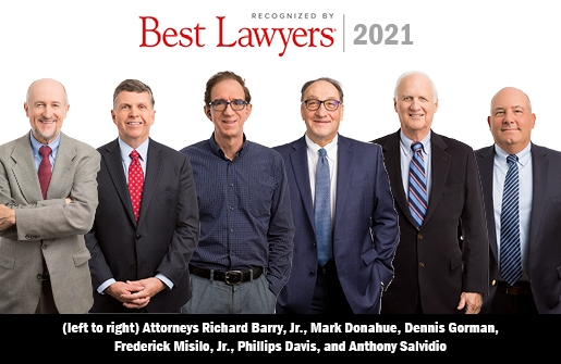 Recognized by 2021 Edition of Best Lawyers®