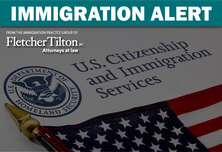 Immigration Alert: H-1B Cap Registration Period Begins March 9th