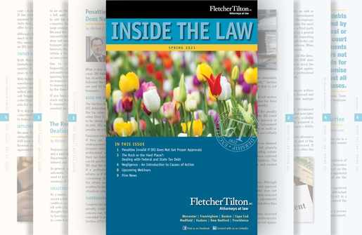 Inside the Law - Spring 2021